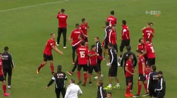 Me ne fund Shqiperia fiton ne minuten e fundit