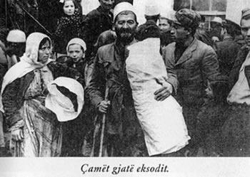 Genocidi ndaj cameve/Terbohet greket, kercenojne BE-ne