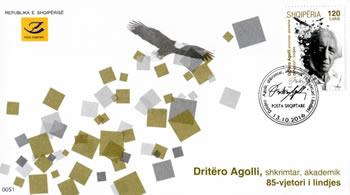 85-vjetori i Dritero Agollit, Posta Shqiptare emeton pulle te posacme