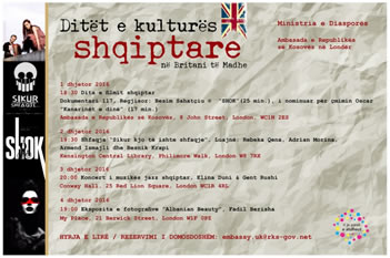 Ministria e Diaspores organizon Ditet e kultures shqiptare ne bote