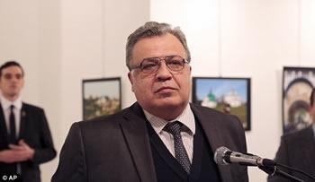 Vrasja e ambasadorit rus ne Turqi, Moska zyrtare: Eshte nje akt terrorist