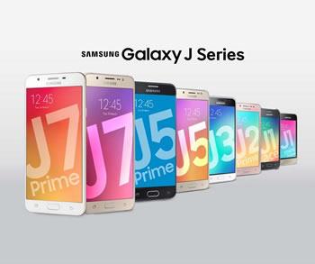 Samsung prezanton serine e re te Galaxy J