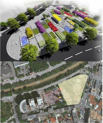 Bashkia e Tiranes , hap tenderin per park dhe parkim 2 milione euro tek '7 xhuxhat'